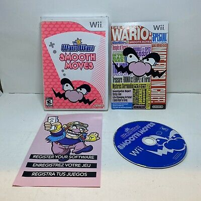 Warioware Smooth Moves Wii Complete