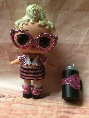 New LOL Surprise Doll Ultra Rare HTF Big Sister Glitter Bling Pink Baby Holiday