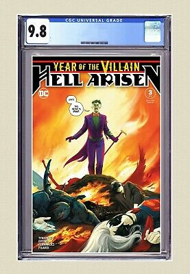 Year Of The Villain: Hell Arisen #3 CGC 9.8 Cover A 1st Full Punchline FAST PASS