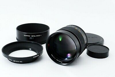 Near MINT Contax Carl Zeiss Planar T* 85mm f1.4 MMJ Lens for C Y from JAPAN