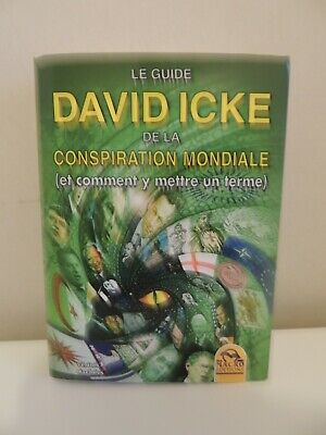 David Icke - Le guide David Icke de la conspiration Mondiale - Rare !