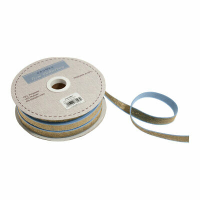 Metallic Gold Elastic Trim For Craft Projects | 25m x 12mm|GTCE0112