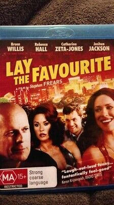 Lay The Favourite - Blu Ray Region B  NEW AND UNSEALED