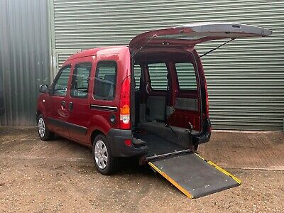 Renault Kangoo 1.6 Automatic 2007 Wav Wheelchair Accessible Vehicle + Ramp