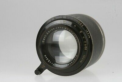 Carl Zeiss Jena Biotessar 2,8/135,5cm #1125591 Helical mount Sehr selten-rare!