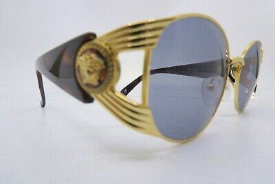 Vintage 90s Gianni Versace sunglasses made in Italy Mod. S64 Col. 030 mens M Exc