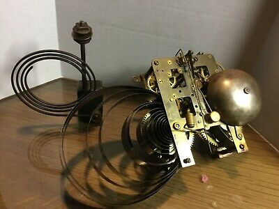 Antique INGRAHAM Empress MANTLE CLOCK MOVEMENT
