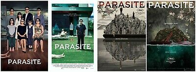 Parasite / Gisaengchung Movie Poster Wall Decor Print 48x32 40x27 36x24 30x20""