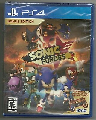 Sonic Forces Bonus edition . BRAND NEW . sealed . Sony Playstation 4