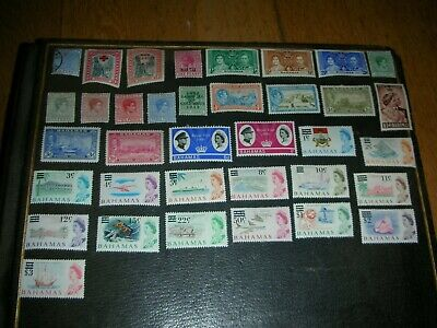 stamp collection british commonwealth bahamas