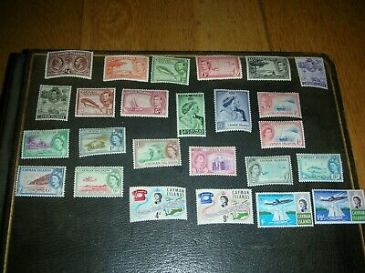 stamp collection british commonweatlh cayman islands