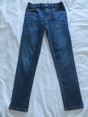 Boys Blue Zoo Blue Denim Super Skinny Jeans Trousers  Age 10 yrs