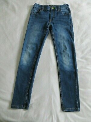 Boys Blue Zoo Blue Denim Super Skinny Jeans Trousers  Age 11 yrs