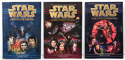 STAR WARS THRAWN TRILOGY by Timothy Zahn Lot of 1-3 Hardcover HC HEIR TO EMPIRE+