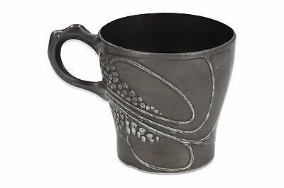 An Arts & Crafts / Art Nouveau pewter cup Grape vine design