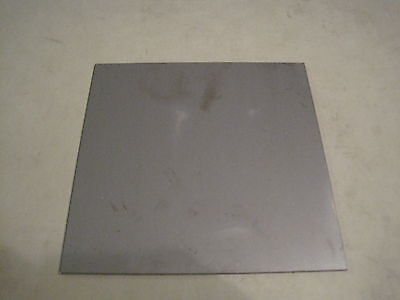 """20ga Steel Plate, Square,Rectangle, 6"""" x 6"""", A36 Steel, .0359"""" Thick"""