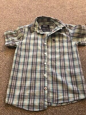 Excellent Condition Boys Primark Checked Shirt Age 8/9