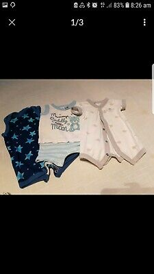 Baby BOY SIZE 0000 CLOTHES PACKAGE
