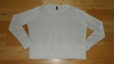 Fab Ladies H&M Light Stone L'Sleeved Jumper, UK Size M