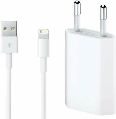 Cargador Y Cable Datos Original Para Iphone 5S 5C 6 6S 7 8 8 Plus X,Xs,Xr