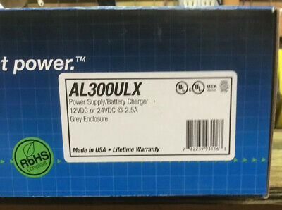 Brand New Altronix AL300ULX Power Supply/Charger