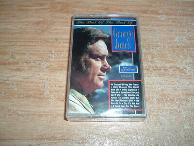 George Jones (The Best Of The Best) Cassette (New And Sealed)