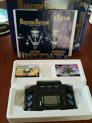 console BARCODE BATTLE 1992 - complete collector