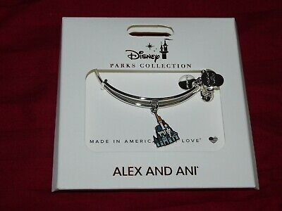 Disney Parks 2020 Cinderella Castle Alex And Ani Bracelet Silver Tone New