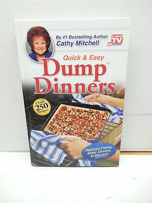 Cathy Mitchell Quick & Easy Dump Dinners Cookbook Recipe Guide