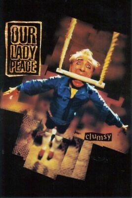 Clumsy by Our Lady Peace  - postcard