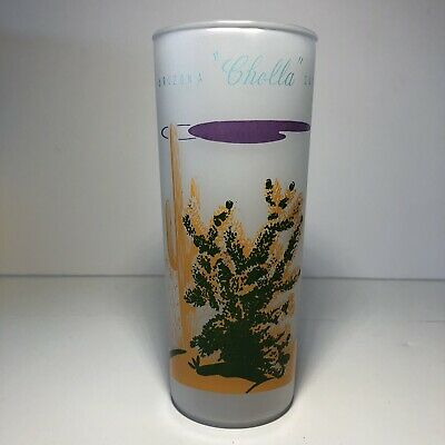 Blakley Gas /& Oil Arizona Frosted Cholla Cactus Glass