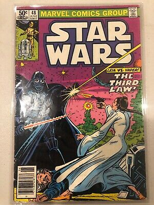 STAR WARS #48 Marvel Comics Group June 1981 VG/FN Grade