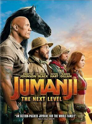 Jumanji:The Next Level (DVD, 2020) <<<NEW>>><<< PRE-ORDER>>> FOR 03/17/2020