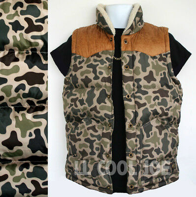 MENS HUNTERS BODYWARMER Gents tough  camo gilet jacket oak tree camouflage S-5XL
