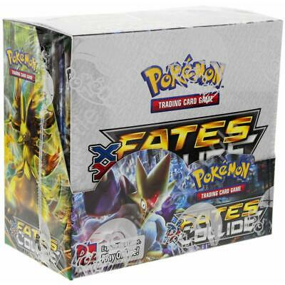 Pokemon Fates Collide Booster Box Factory Sealed! FREE US Shipping