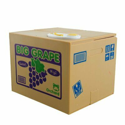 Big Grape Piggy Bank Stealing Money Box Storage Coin Money Box Collectible Gift