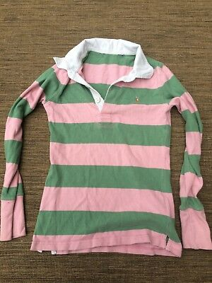 Kids Ralph Lauren Rugby Shirt Polo Casual Top Long Sleeve Age 3 4 Boys