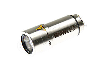 Fits 12 volt 12v power  63312410071 OEM NEW BMW Rechargeable LED Flashlight