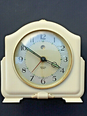 Vintage SMITHS Sectric Electric bakelite alarm clock - spares/repairs