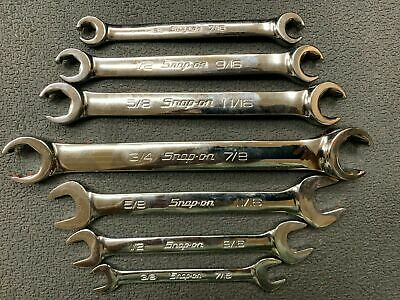 Snap On Line Wrenches Flare Nut Standard SAE Open End