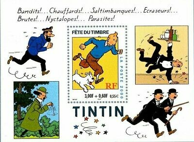 Bloc Feuillet BF2! - Fête du Timbre Tintin - 2000 - Neuf** Luxe