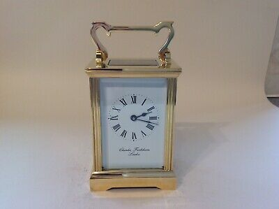 Stunning Vintage Carriage Clock From Charles Frodsham London Restored Feb 2020