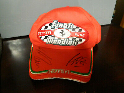F1 Michael Schumacher  CAP HAND SIGNED IN PERSON BY Michael Schumacher cap 6