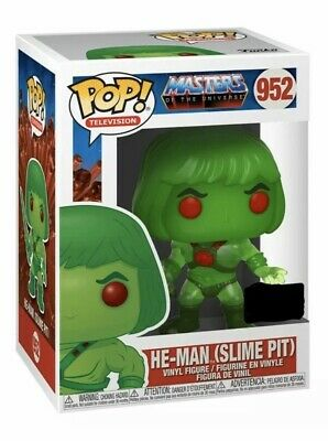 PREORDER Funko Pop Masters Of The Universe ECCC Shared Excl. HE-MAN (SLIME PIT)