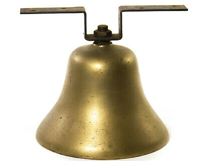 Brass Ships Bell Vintage Nautical Vintage Loud Railroad Industrial Home Decor