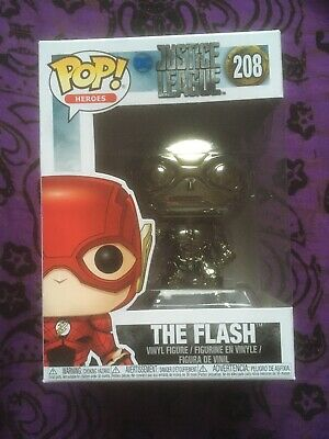 bleu chromé FUNKO POP!: DC Justice League-The Flash NYCC EXC #208 * UK Stock *