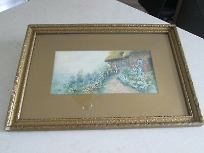 Original Watercolor Painting Signed Paterson