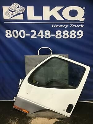 White 2000 Mistubishi Fuso FH211 Driver Door Assembly