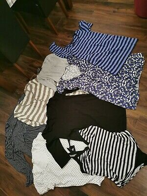 Size 16 bundle Of Ladies Maternity Tops Tunic Dress Swimsuit Dorothy Perkins