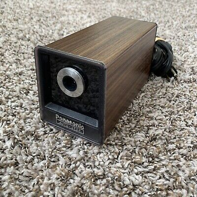 Vintage Panasonic KP-77 Tested Auto Electric Stop Pencil Sharpener Outstanding!!